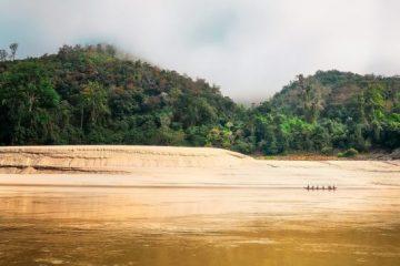 La rivière Mékong au Vietnam